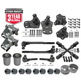 KIT 3. Ford Tie Rod+Ball Joint+Up+Lower Control Arm+Saddle Kit XA XB XC ZF ZG ZH