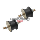 Rubber Cushion Connector Pair QUALITY Anti Vibration Mount 36mm- 65 Duro bolt