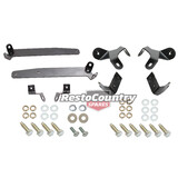 Holden Torana Bumper Bar Bracket + Mounting Bolt Kit LC LJ Front + Rear iron