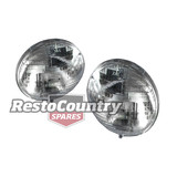 "Holden 7"" SEALED Headlight PAIR Hi/Low W/O Parker FX FJ FE FC FB EJ EK HK HT HG"