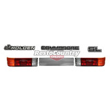 Holden VL SL Commodore Taillight + Extension + Badge Kit Sedan executive grey