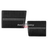 Holden Commodore Rubber Clutch + Brake Pedal Pad x2 VT VX VY VZ manual