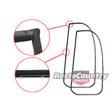 Holden Commodore Door Seal Pair Front LEFT +RIGHT VB VC VH VK VL inc Calais SL/E