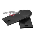 Suit Holden Seat Belt Top Cover x2 Large Black W/HOOK Torana LC LJ LH LX UC