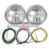 Ford Driving Light + Wiring Loom Kit x2 XW XY GT spot lamp fog