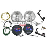 Ford Driving Light +Wiring +Bracket +Cover +Switch +Nut Kit XW GT spot lamp fog