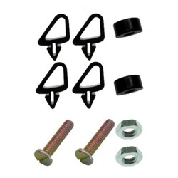 Holden Bonnet Stabiliser Adjuster Bump Stop Kit HQ HJ HX HZ WB rubber