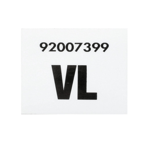 Holden Commodore VL Radiator Decal Broadcast 50031 sticker label