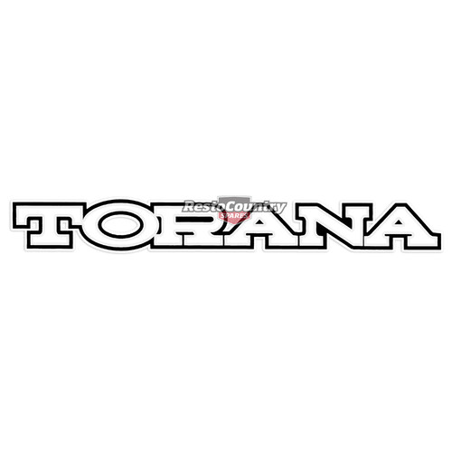 Holden - TORANA - Front Panel Decal LX sticker badge label  nose