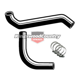 Holden Service Radiator Hose +Clamp Kit HQ HJ HX HZ 6cyl 173 202 No Air Con