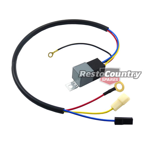 Starter Motor Relay Kit V8 4 & 6cyl Holden Ford Valiant loom wiring