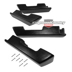 Holden Door Arm Rest Kit HQ HJ HX HZ WB Front+Rear Door Arm Rest Armrest Sed Wag